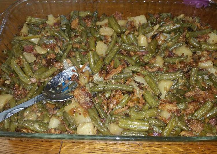 Steps to Make Any-night-of-the-week Baked Green Beans