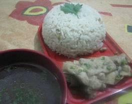 Nasi Ayam Hainam + Sup