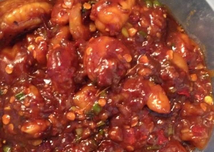 Chilli Honey Garlic Prawns