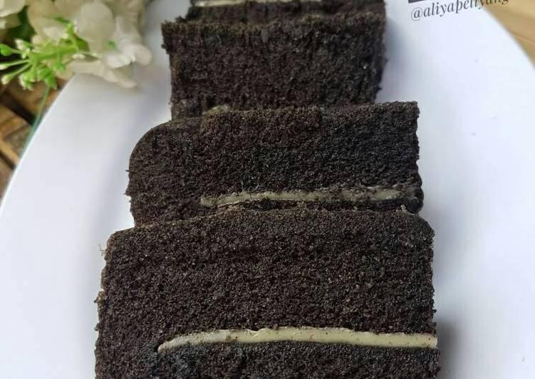 cara membuat Bolu ketan hitam kukus - Sajian Dapur Bunda