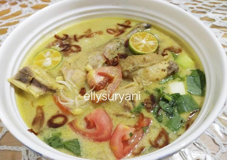 Soto Ayam Kampung Plus Jamur Gerigit