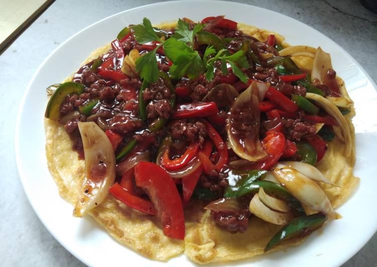 Resepi:  Telur bistik black pepper sauce (maraton ramadhan)  Terbaru