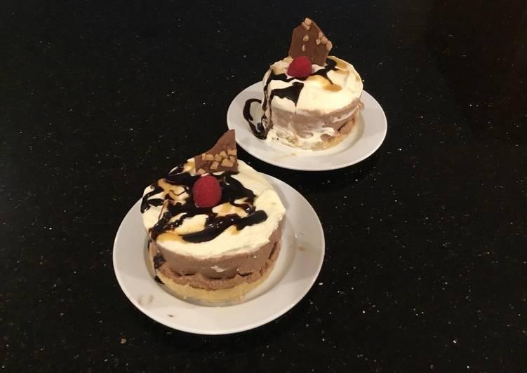 Salted Caramel Truffle Induvidual Cream Tarts