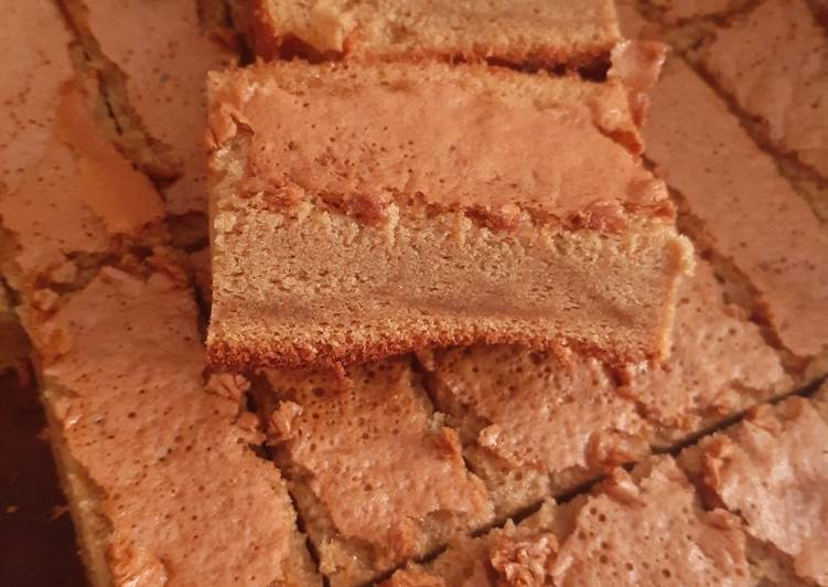 Brown Sugar Cappucino Cake (Bolu Gula Merah Cappucino)