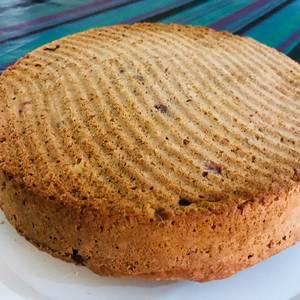 Torta de cítricos con Salsa de chocolate y Nuez? (Pomelo -naranja ?-Frutilla?)