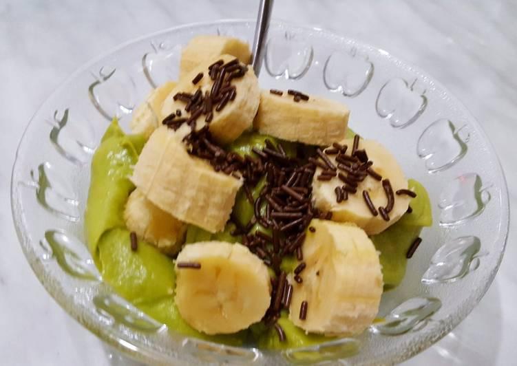 Banana Avocado cream