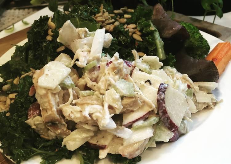 Apple & Almond Chicken Salad