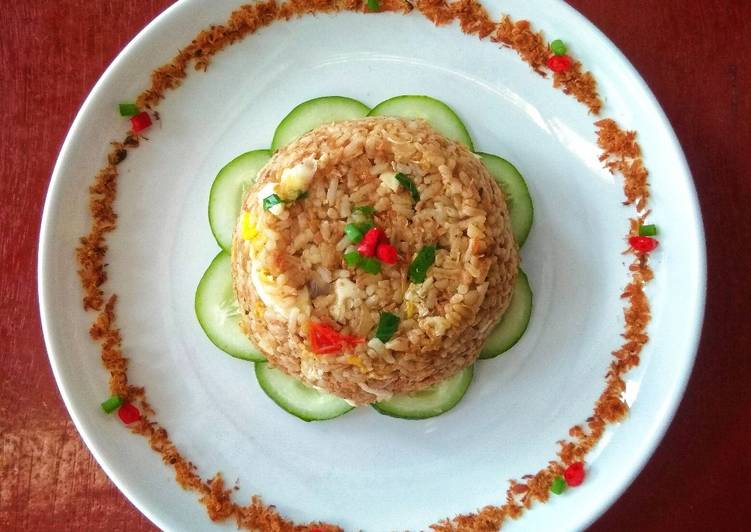 Nasi Goreng Pedas Abon Ikan