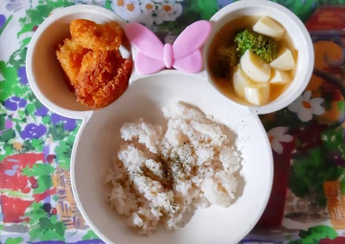 MPASI 12M+: Nugget Telur Abon Sapi