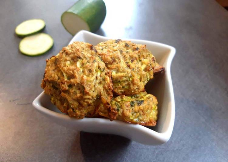 Boulettes de courgette au curry