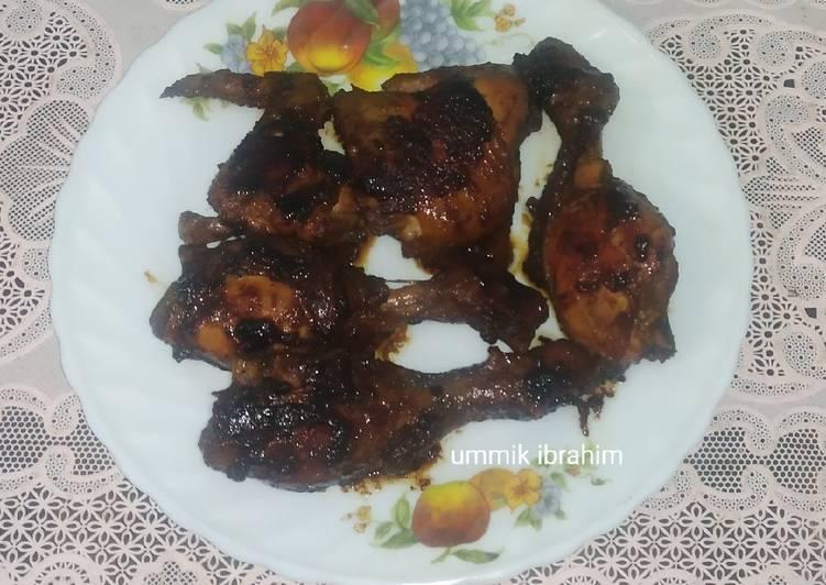 Ayam bakar teflon ekonomis
