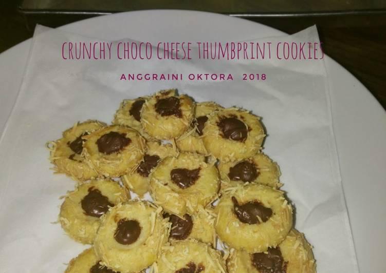 Crunchy Choco Cheese Cookies #Seninsemangat