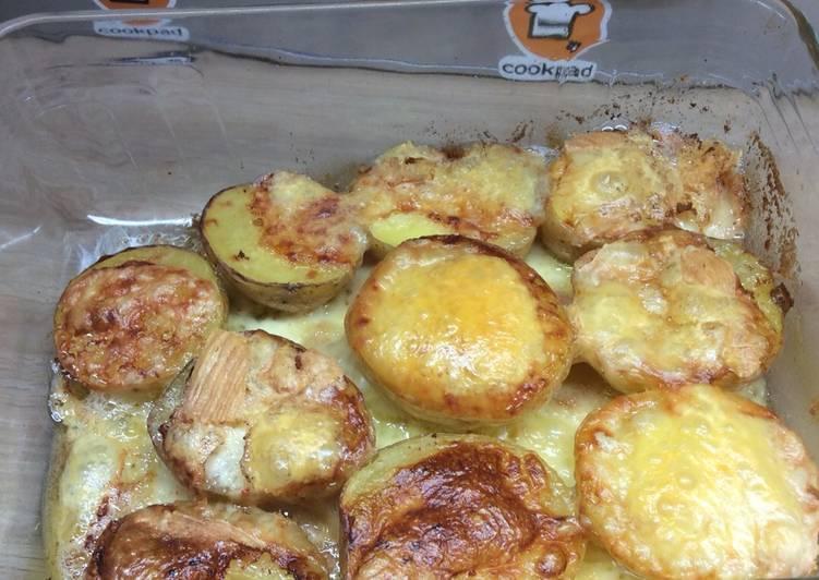 Pommes de terre gratinées au Vieux Lille