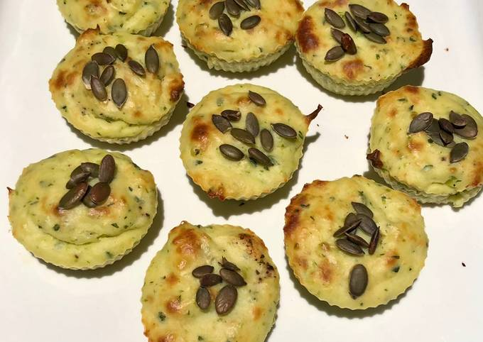 Petits muffins courgettes ricotta