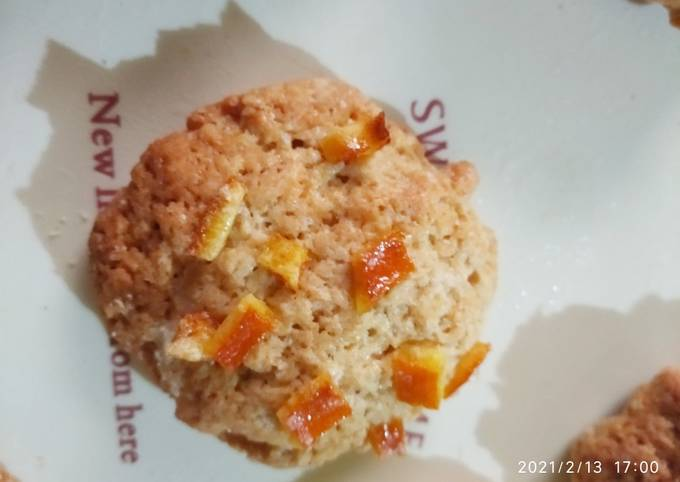 Cookies à la cannelle et à l'écorce d'orange confite 🍊