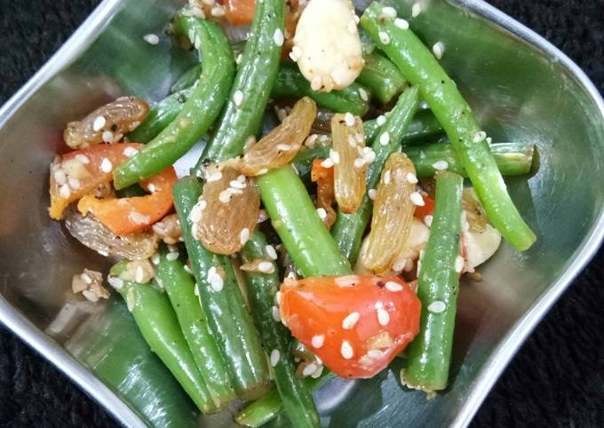French Beans salad