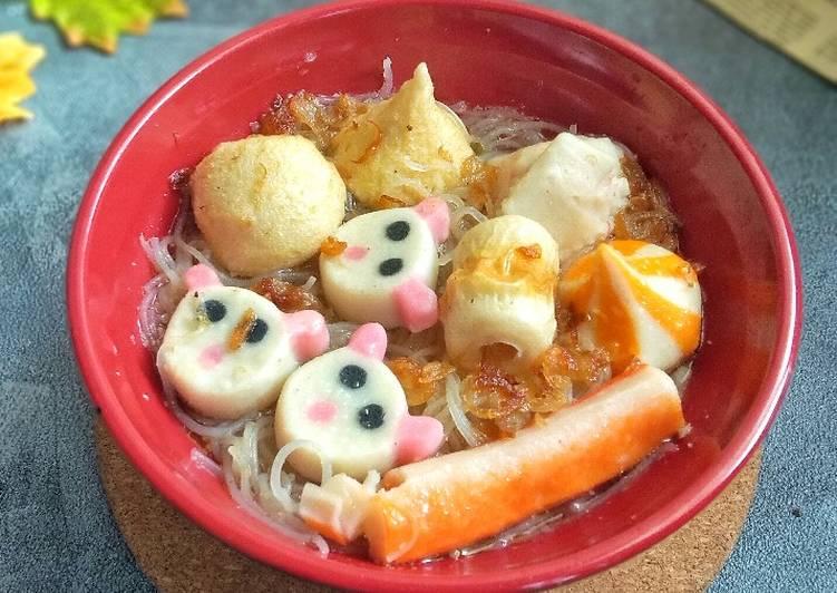 Bihun Kuah Bakso Seafood