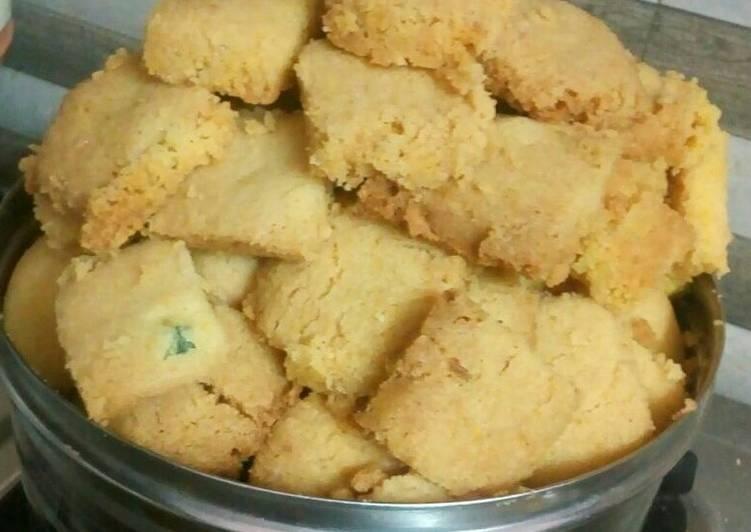 Old Fashioned Dinner Ideas Ultimate Wheat flour nan khatai cookies