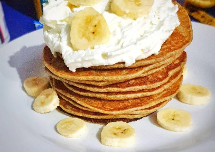 Pancake Pisang tanpa Baking Powder