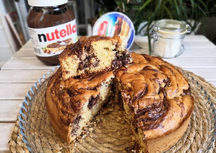 Recette Délicieuse Gâteau Nutella Mascarpone