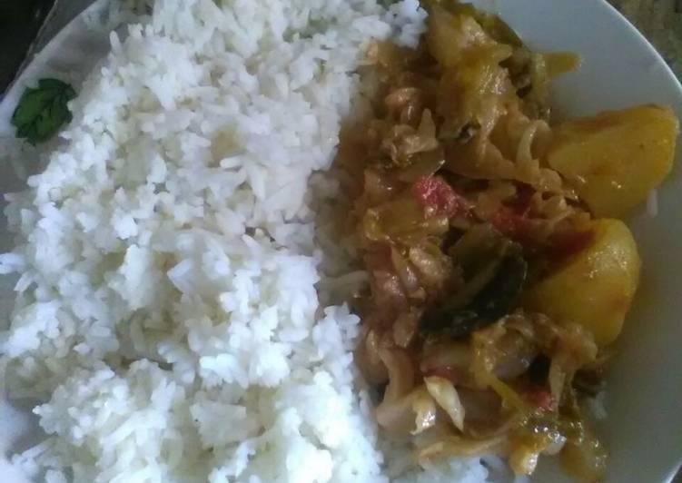 Recipe of Super Quick Homemade Cabbage stew