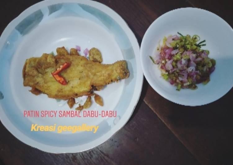 169. Patin spicy sambal dabu-dabu