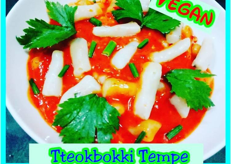 Tteokbokki Tempe Saos Samyang Korea Vegan