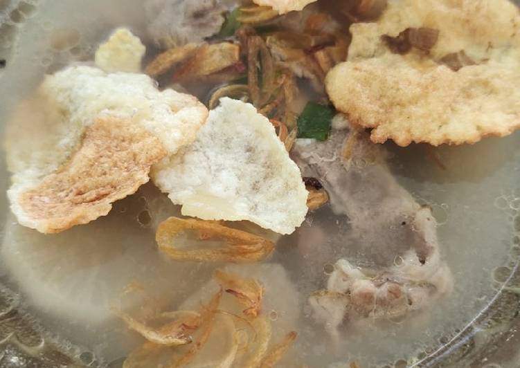 Sop lobak sapi slice nyummy +tips