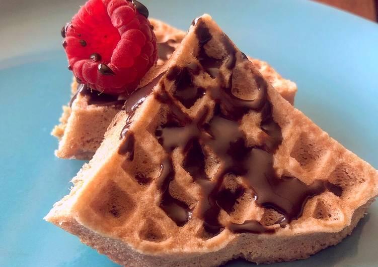 Mini waffle sin gluten