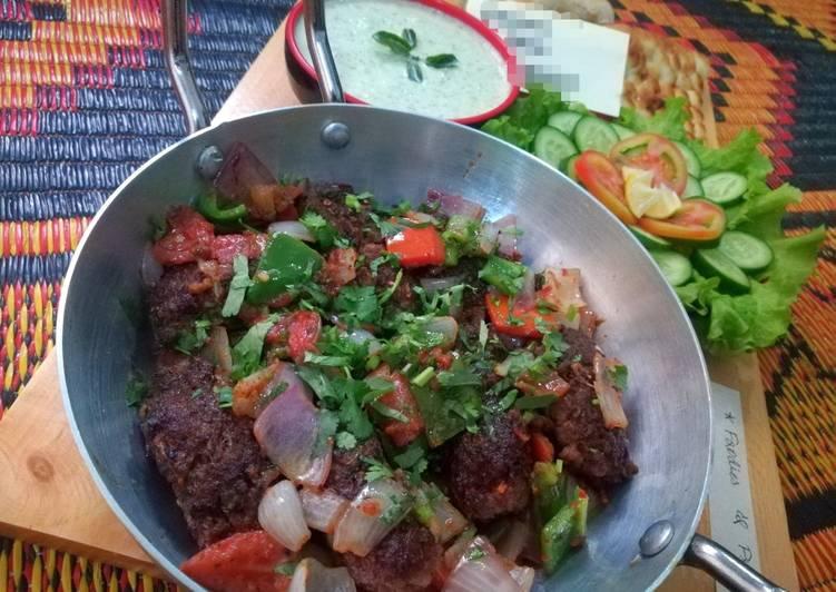 5 Minute Recipe of Quick Kadhai Kabab Masala
