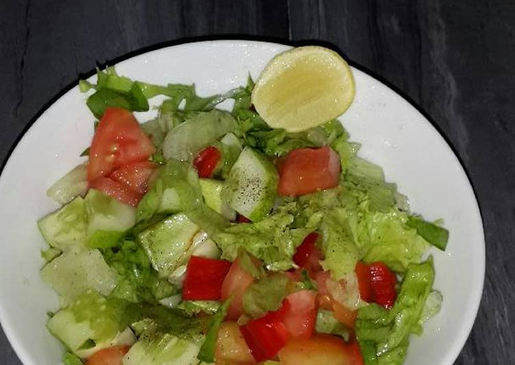 Simple salad gm diet day 2