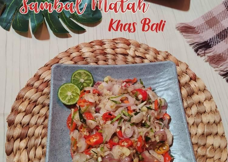 Sambal Matah Khas Bali