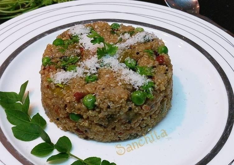 Oats Quinoa Mix Veg Upma