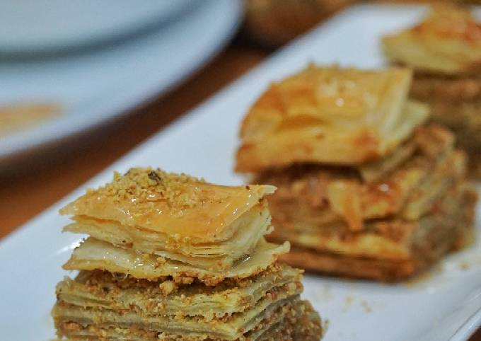 Recipe: Perfect Baklava (using puff pastry)