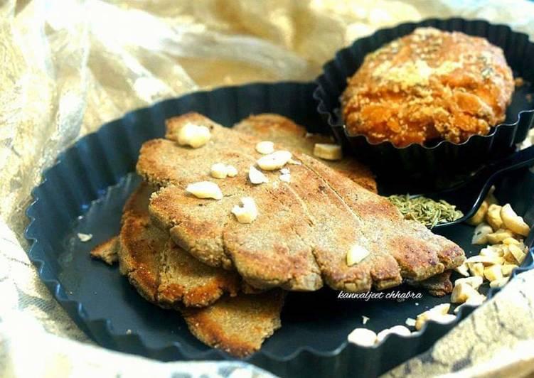 Recipe: Yummy Gud bajre ki roti