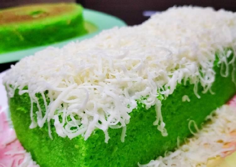 Bolu pandan keju panggang - cookandrecipe.com
