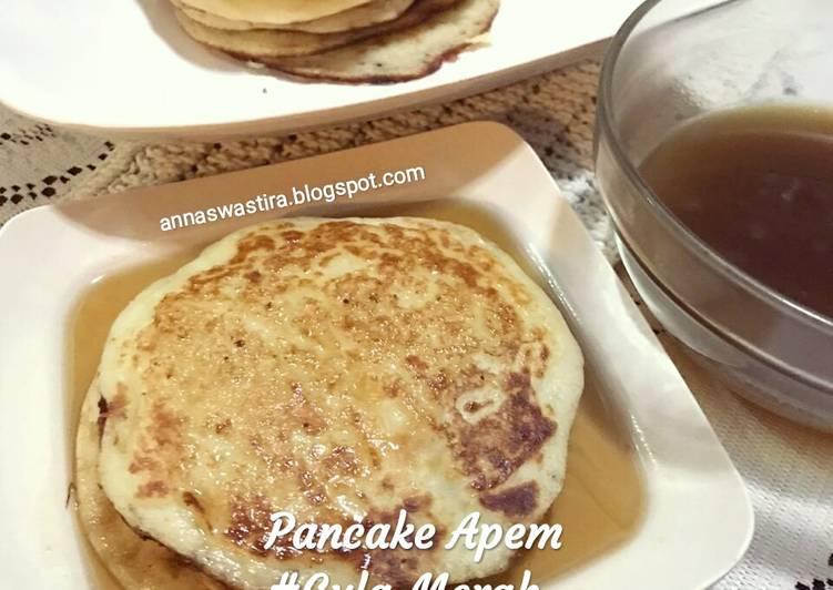 Pancake Apem #Gula Merah - ganmen-kokoku.com