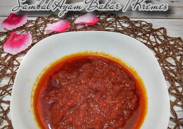 93. Sambal Ayam Bakar / Kremes