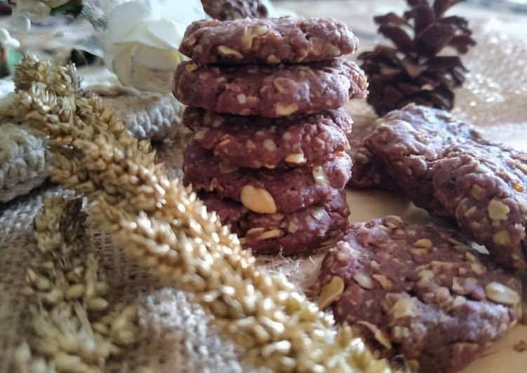 Taro Oatmeal Cookies