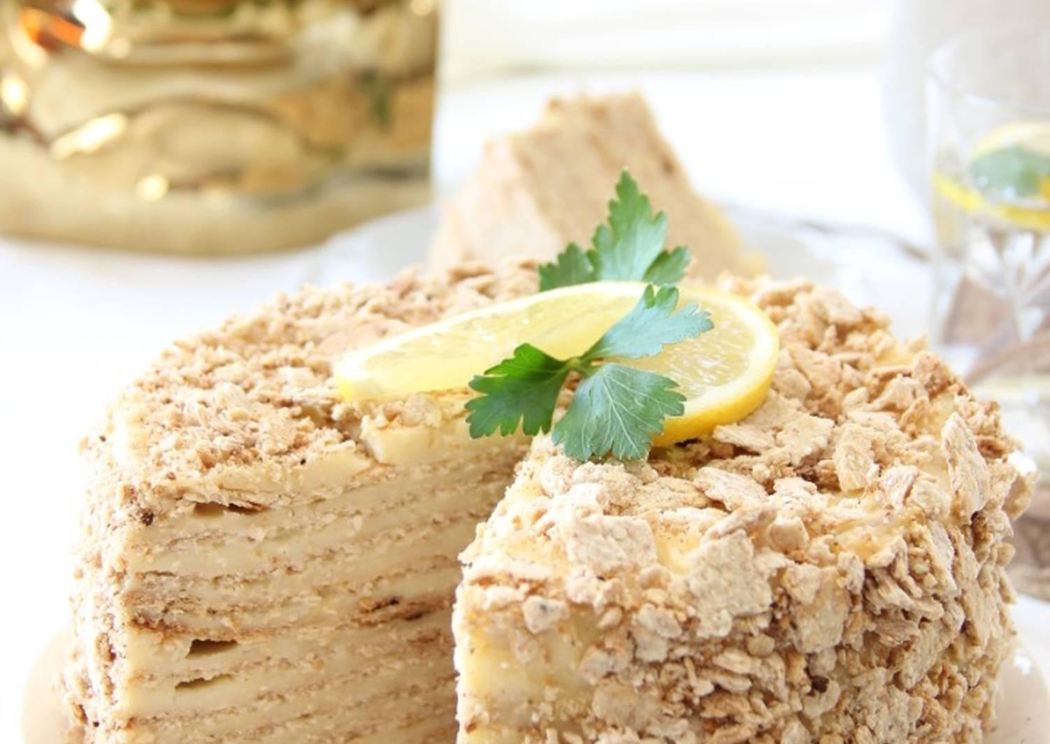 торт наполеон нежный пошаговый рецепт с фото самых