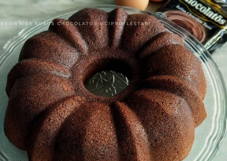 Brownies Kukus Chocolatos (Simple & Mudah)