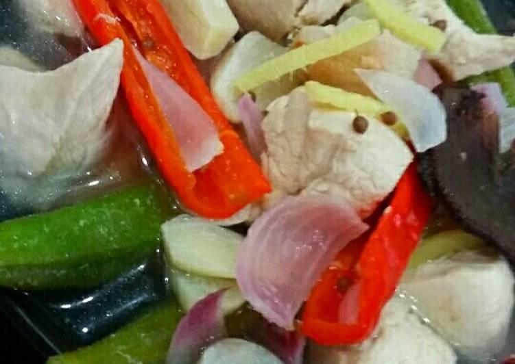 Singgang Ayam Ala' Diet #MAHN - velavinkabakery.com