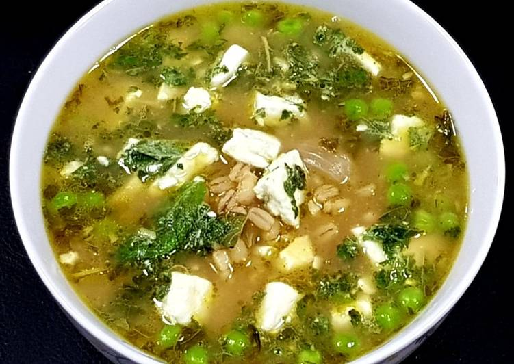 Recipe: Perfect Barley Pea Stew