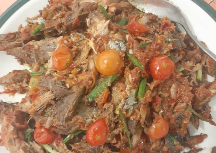 Ikan Tongkol Suir Sambal Tomat