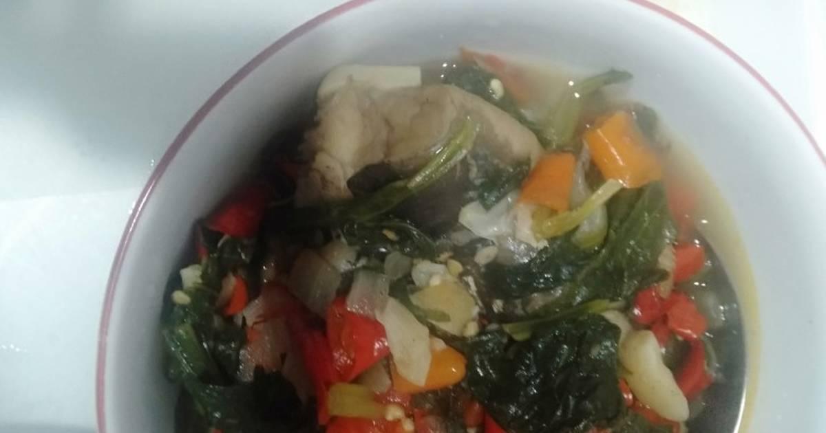 Resep Nigerian Catfish Pepper Soup Sup Pedas Lele Nigeria Modifikas Oleh Jasmine S Kitchen Cookpad