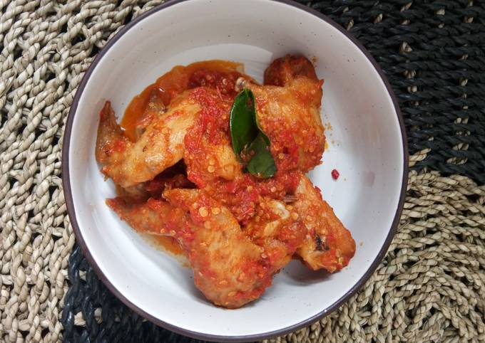 Balado Ayam Simple