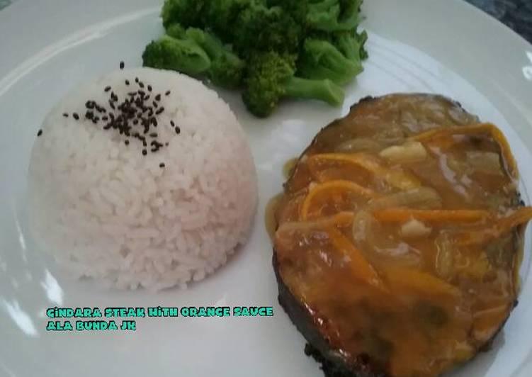 Resep Gindara Steak With Orange Sauce Oleh Fitriana Titis Perdini Cookpad