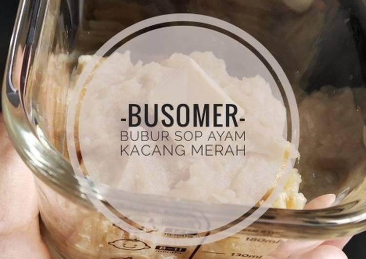 BUSOMER (Bubur Sop Ayam Kacang Merah) - Slowcooker