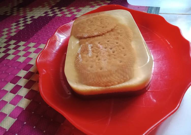 Puding regal sederhana