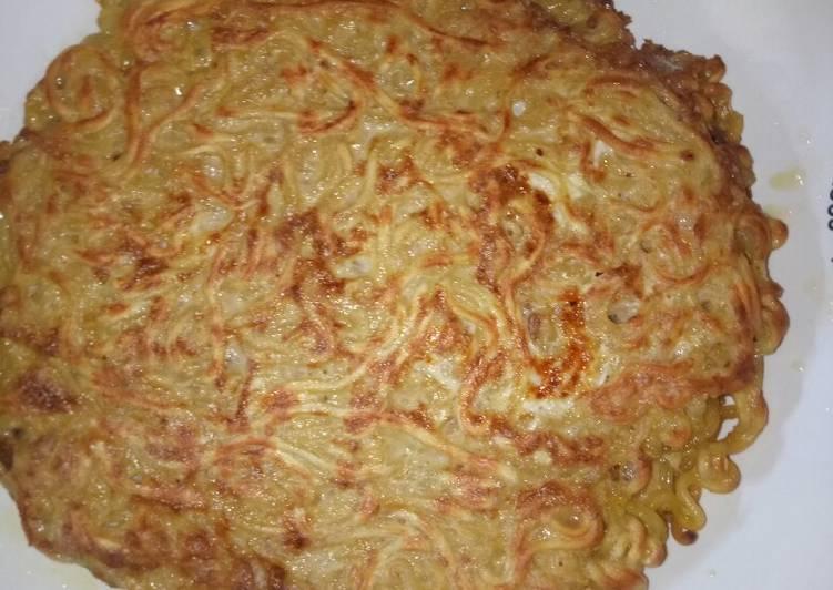 Cara Memasak Omelet Mie Dan Telur Rumahan